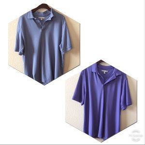 Bundle of 2 men's polo shirts from Nordstrom XL